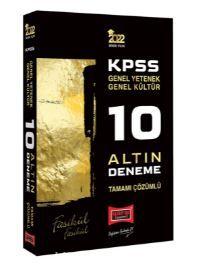 2022 KPSS GY GK Tamamı Çözümlü 10 Altın Deneme PDF Kitap İndir