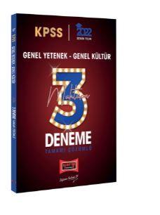 2022 KPSS GY GK Tamamı Çözümlü Muhteşem 3 Deneme PDF Kitap İndir