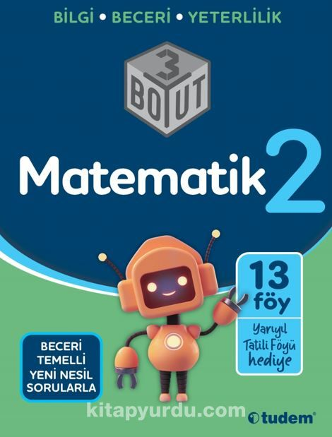 2.Sınıf Matematik 3 Boyut PDF Kitap İndir