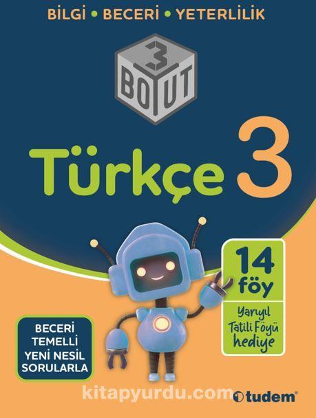 3.Sınıf Türkçe 3 Boyut PDF Kitap İndir
