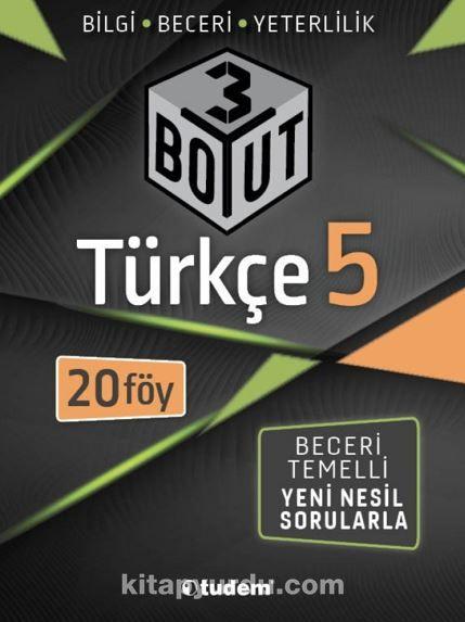 5.Sınıf Türkçe 3 Boyut PDF Kitap İndir