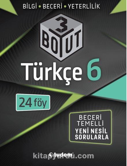 6.Sınıf Türkçe 3 Boyut PDF Kitap İndir