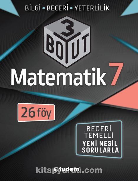 7.Sınıf Matematik 3 Boyutlu PDF Kitap İndir