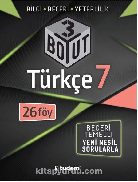 7.Sınıf Türkçe 3 Boyut PDF Kitap İndir
