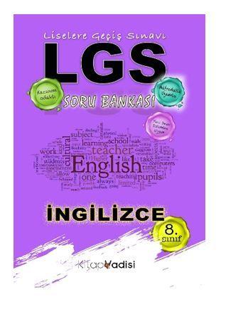 8.Sınıf İngilizce Soru Bankası PDF Kitap İndir