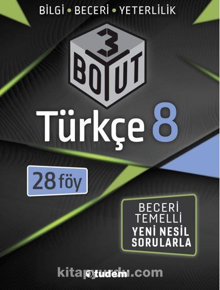 8.Sınıf Türkçe 3 Boyut PDF Kitap İndir