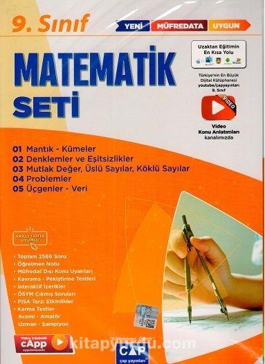 9. Sınıf Matematik Anadolu Seti PDF Kitap İndir