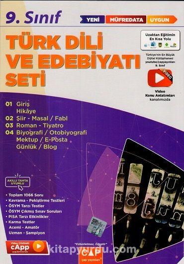 9. Sınıf Türk Dili ve Edebiyatı Anadolu Seti PDF Kitap İndir