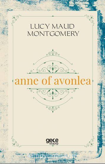 Anne Of Avonlea PDF Kitap İndir