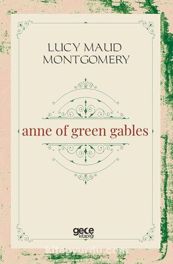 Anne of Green Gables PDF Kitap İndir