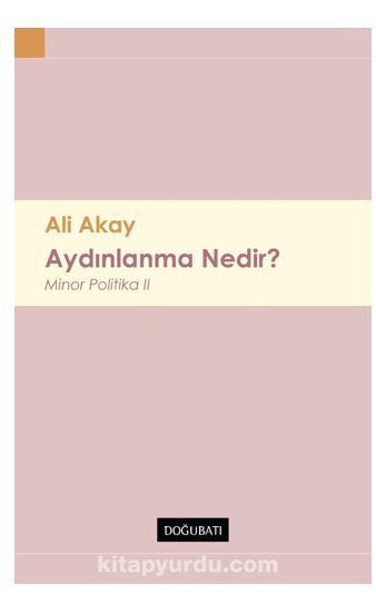 Aydınlanma Nedir? Minor Politika II PDF Kitap İndir