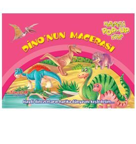 Dino'nun Macerası – Hareketli Pop-Up Kitap PDF Kitap İndir