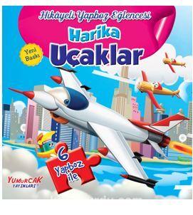 Hikayeli Yapboz Eğlencesi Harika Uçaklar PDF Kitap İndir