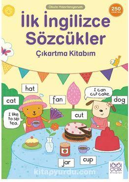 İlk İngilizce Sözcükler Çıkartma Kitabım- 250 Çıkartma PDF Kitap İndir