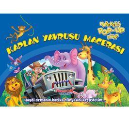 Kaplan Yavrusu Macerası – Hareketli Pop-Up Kitap PDF Kitap İndir