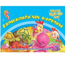 Kaplumbağa'nın Macerası – Hareketli Pop-Up Kitap PDF Kitap İndir