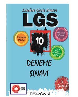 LGS 10 Deneme Sınavı PDF Kitap İndir