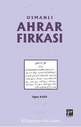 Osmanlı Ahrar Fırkası PDF Kitap İndir